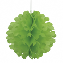 "Flutter Ball Paper Lantern - 12"" Lime Green"